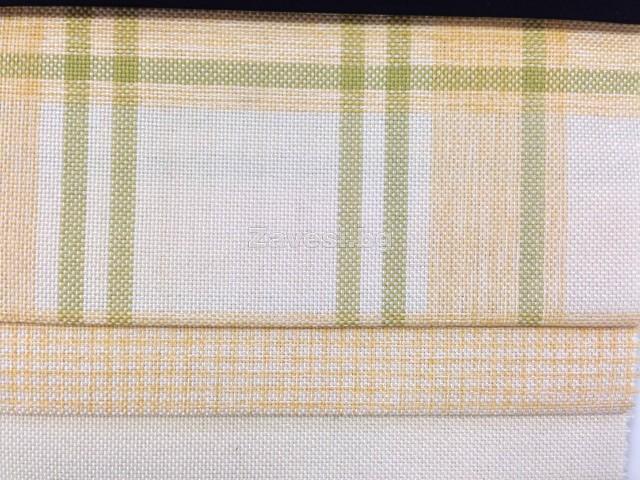 Жакардови дамаски в три десена с жълто и зелено