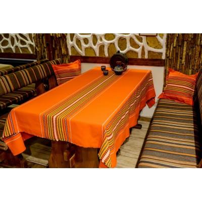Оранжева битова покривка