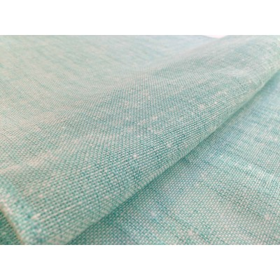 Curtain in turquoise