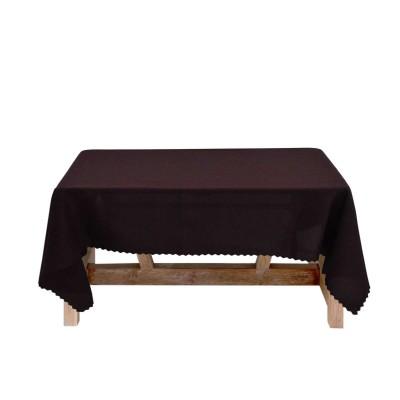 Покривка за маса в кафяво 150/220