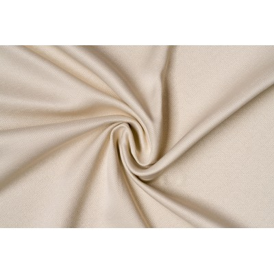 One colour curtain with design