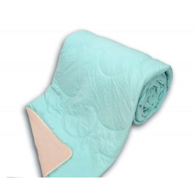 Капитонирана олекотена завивка в два цвята 200/220 с 60гр/кв.м силиконова вата