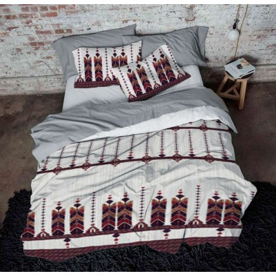 Double bedding set with traditional folklore elements