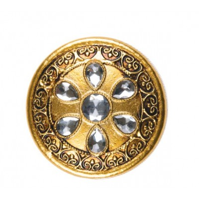 Декоративен кръгъл държач за завеси с кристали