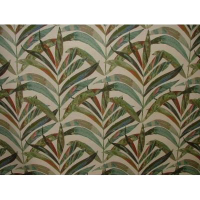 Плат за плътна завеса с палмови листа