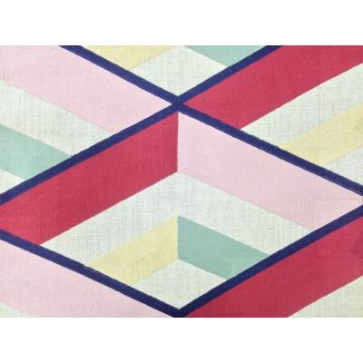 Плат за плътна завеса с бродерия Angle