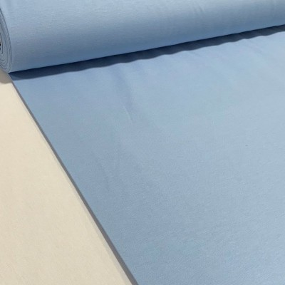 One color piece fabric in blue 2,70m