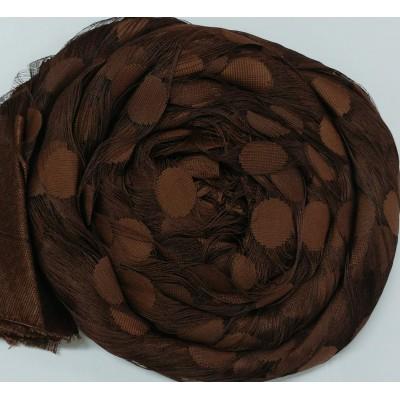 Ресни 3 метра в кафяв цвят с кръгве