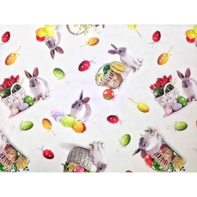 Easter fabric for curtain and tablecloth
