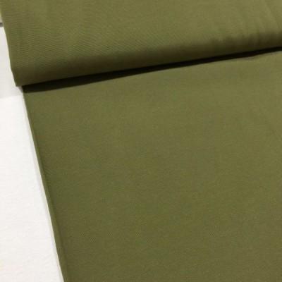 Едноцветен плат за плътна завеса и дамаска в тъмно зелено