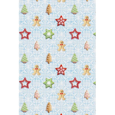 Christmas fabric for tablecloths Cookies