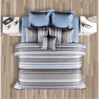 Двоен спален комплект с два плика ранфорс Нанси