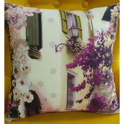 Decorative pillow case Old town 43/43