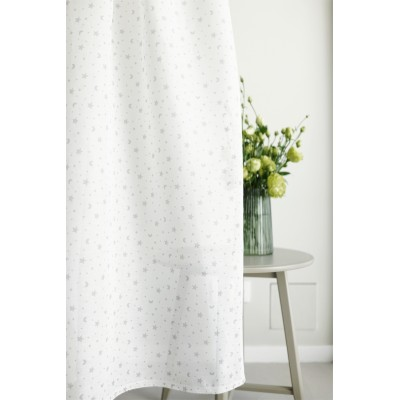 Curtain with stars and moons