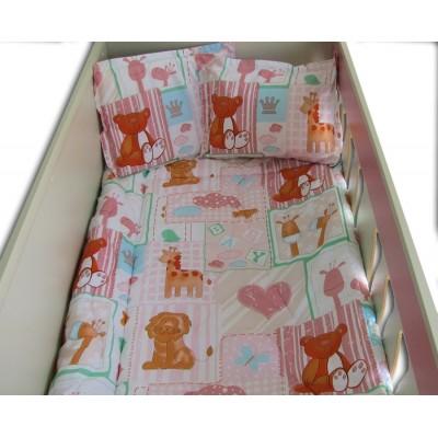 Бебешки спален комплект Лъв