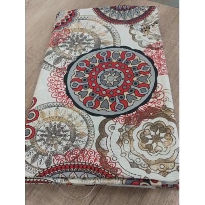 Piece fabric with Mandala 1m