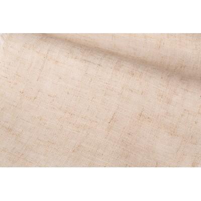 Плат за тънко перде натурален лен в бежов цвят