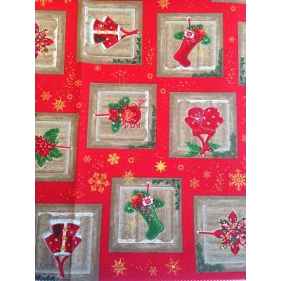 Коледен плат за покривки Ornaments