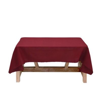 Покривка за маса в бордо 150/150