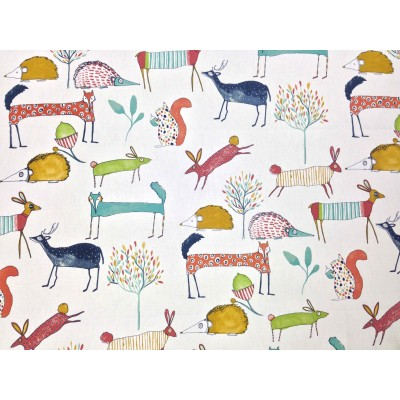 Curtain for children with animals