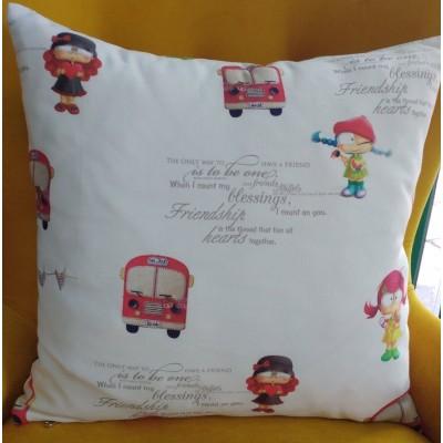 Decorative pillow case Girls 43/43