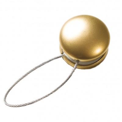 Магнитна щипка за пердета и завеси в матирано златисто