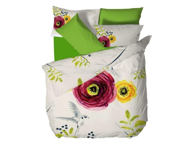 Двоен спален комплект Цвете