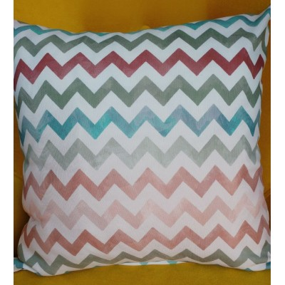 Decorative pillow case Zig zag 43/43