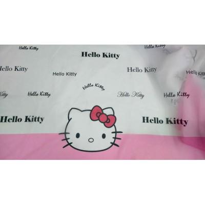 Плат за тънко детско перде Hello Kitty