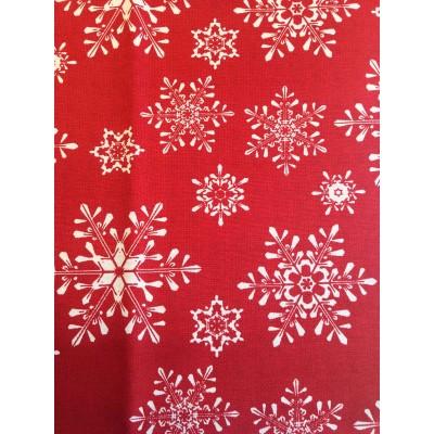 Коледен плат за покривки Snowy