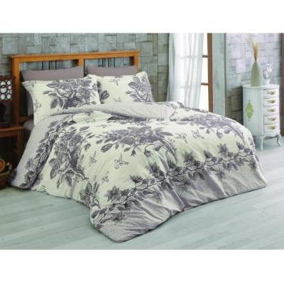 Двоен спален комплект с два плика ранфорс Мари