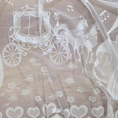 Curtain for children with Cinderella