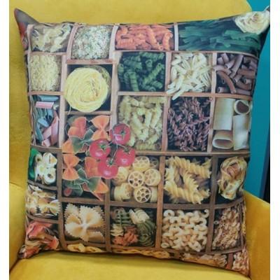 Decorative pillow case Pasta size 43/43