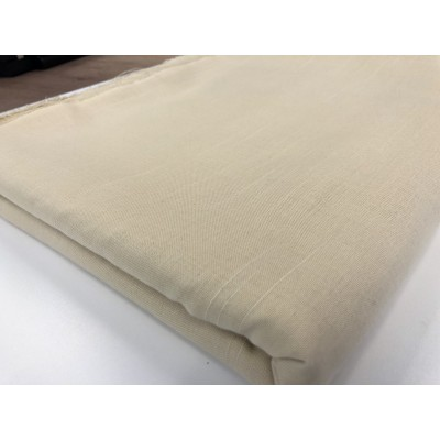 Piece fabric in beige with size 2,40m/2,80m