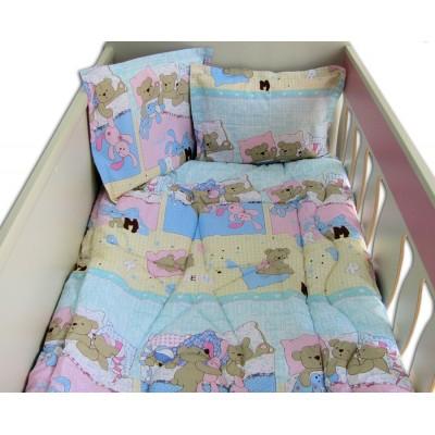 Бебешки спален комплект с мечета