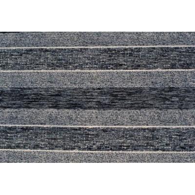 Дамаска Фибреа на райе цвят черен