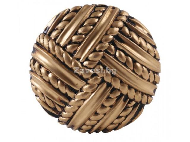 Декоративен кръгъл държач Плетка