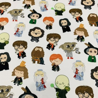 Плат за плътна детска завеса с дигитален печат Хари Потър