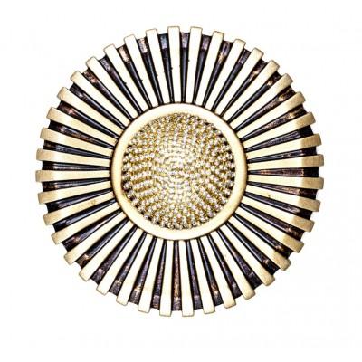 Декоративен кръгъл държач за пердета и завеси