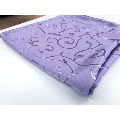 Piece fabric in purple with size 1,30m/2,80m