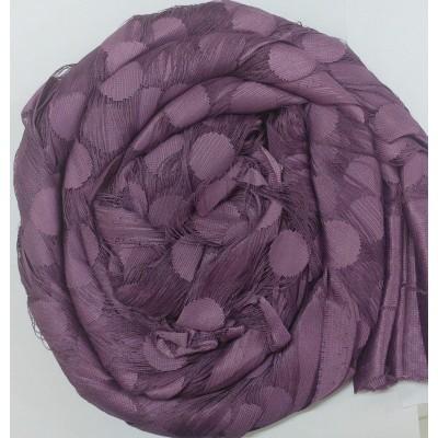 Ресни 3 метра в лилав цвят с кръгове