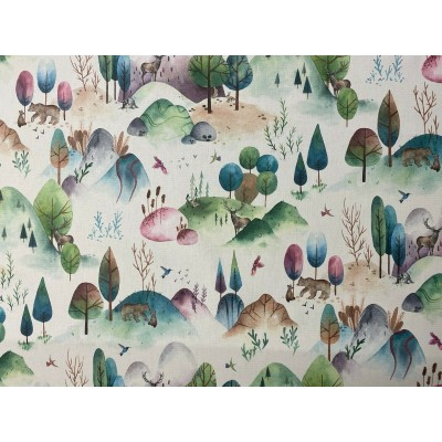 Curtain and upholstery Forest