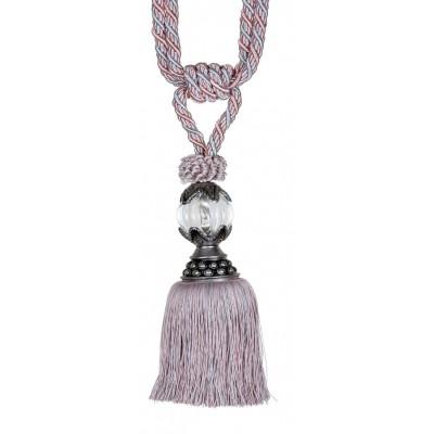 Декоративен пискюл за пердета и завеси с кристална топка
