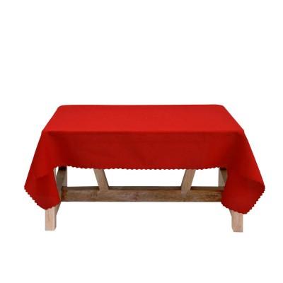 Покривка за маса в червено 150/150