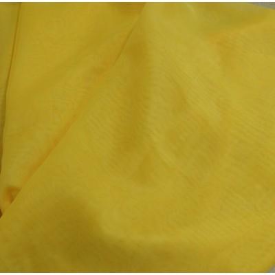 Плат воал за тънко перде цвят жълт