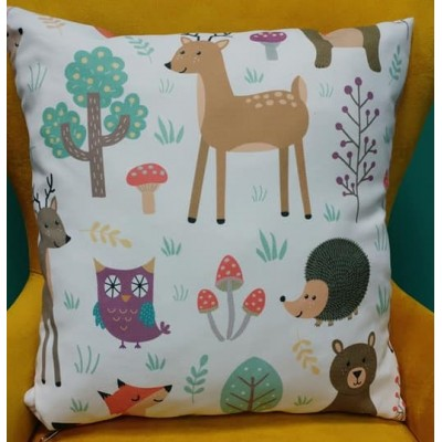 Decorative pillow case Forest size 43/43