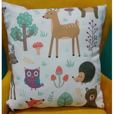 Decorative pillow case Forest size 43/43