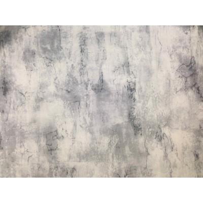 Плат за плътна завеса и дамаска флок с мраморен ефект