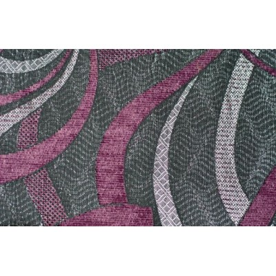 Дамаска Бенфика със шарка цвят лилав