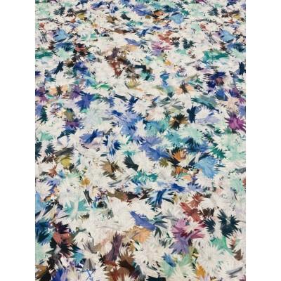 Парче плат с цветя 0,65см/0,65см